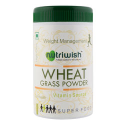 Wheat Grass Powder 100 gms - Nutriwish's