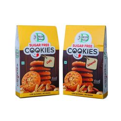 Sugar-less Cookies Dezire Natural - Multigrain- 300gms