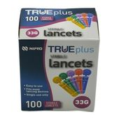 Nipro Trueplus Sterile Lancets 33G (100 Pack)