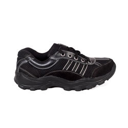 HealthPlus Diabetic Sports Shoes for Men (With Lace), 9, black
