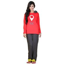 C244 T-shirt & Pajamas, xl,  red
