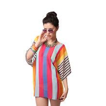 S12- Beach T-shirt, free size,  orange