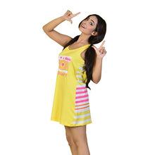 C219- SLEEP DRESS, l,  yellow