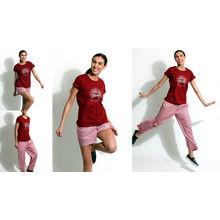 C170- T-shirt with Shorts & Pyjamas, xl,  black
