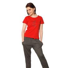 C63- T-shirt with workout Pyjamas, m,  red