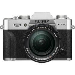 Fujifilm X-T30 Mirrorless Digital Camera with 18-55mm Lens,  Silver