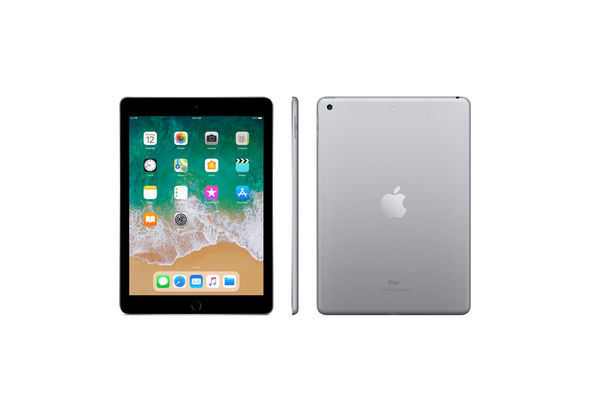 Apple iPad 6th Gen 9.7  Wi-Fi with FaceTime, 128 GB,  Space Gray