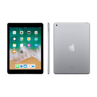 "Apple iPad 6th Gen 9.7"" Wi-Fi with FaceTime, 32 GB,  Space Gray"