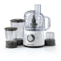 Black & Decker FX400BMG Food Processor With Blender, Mincer and Grinder 400W