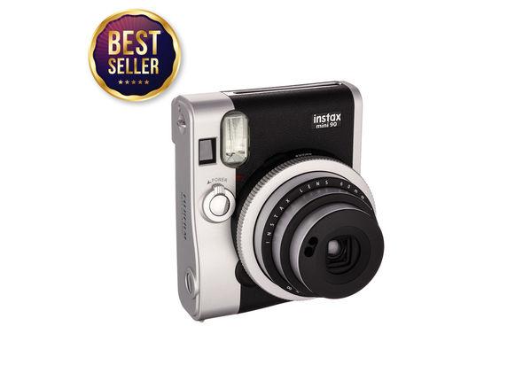Fujifilm INSTAX Mini 90 Neo Classic Instant Camera, Black