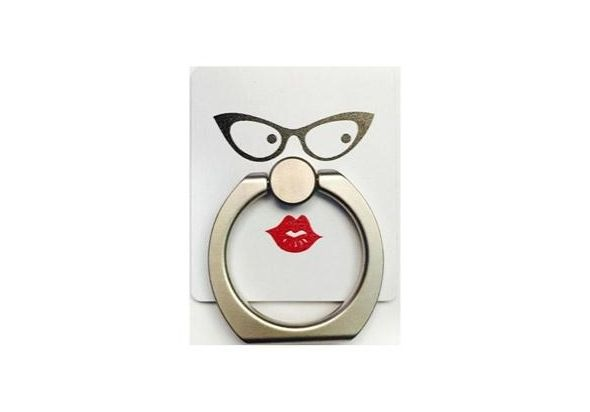 iRing Masstige Pattern Eye Glass & Lips