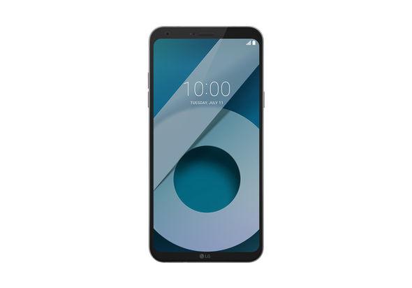 LG Q6 Dual SIM Smartphone LTE, Ice Platinum
