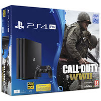 Sony Playstation 4 Pro 1TB Call Of Duty: WWII Bundle