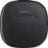 Bose SoundLink Micro Bluetooth Speaker, Black with Black Strap