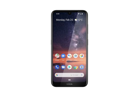 Nokia 3.2 64GB Smartphone LTE,  Black