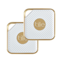 Tile RT-11001-EU Style Key Finder, Champagne 2 Pack