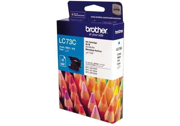 Brother LC73C Cyan Ink Cartridge