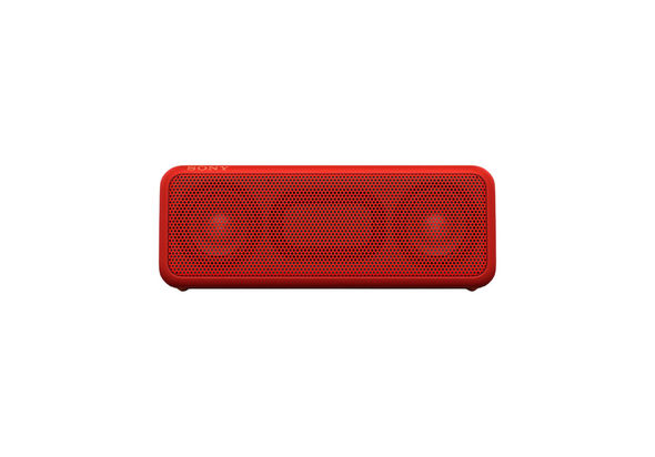 Sony SRSXB3/RC portable wireless speaker, Red