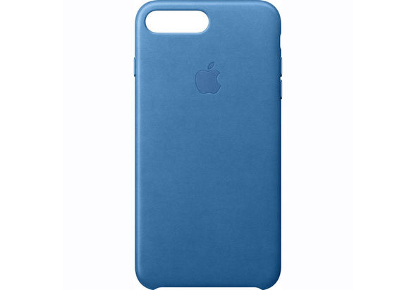 Apple iPhone 7 Plus Leather Case, Sea Blue