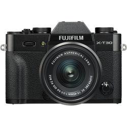 Fujifilm X-T30 Mirrorless Digital Camera with 15-45mm Lens,  Black