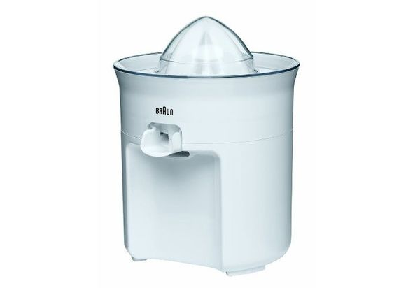 Braun CJ3050 Tribute Collection Juice Extractor, White