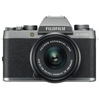 Fujifilm X-T100 Mirrorless Digital Camera with 15-45mm Lens,  Silver