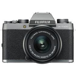 Fujifilm X-T100 Mirrorless Digital Camera with 15-45mm Lens,  Silver