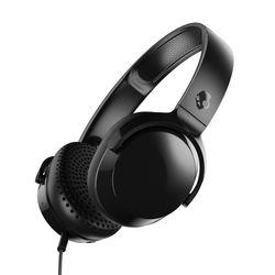 Skullcandy Riff On-Ear Wired Headphones,  Black