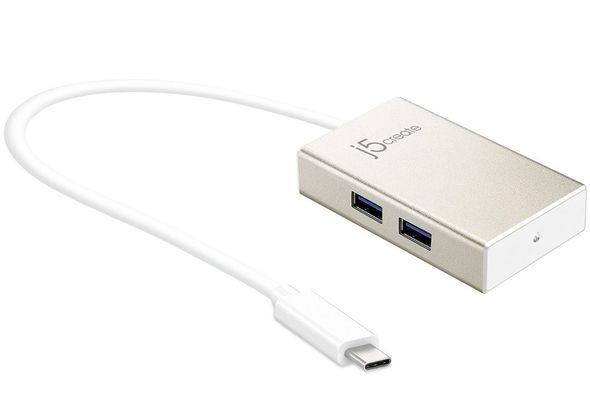 j5create JCH343 USB Type-C 4-Port HUB