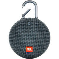 JBL Clip 3 Portable Bluetooth Speaker, Ocean Blue