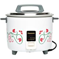 Panasonic SRW18G 1.8 Liter Automatic Rice Cooker, White