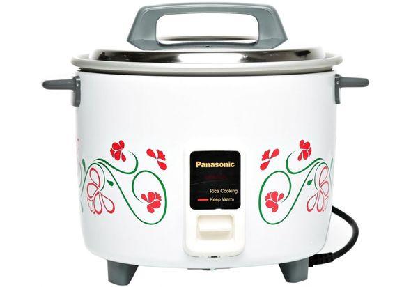 Panasonic SRW18G 1.8 Liter Automatic Rice Cooker, White