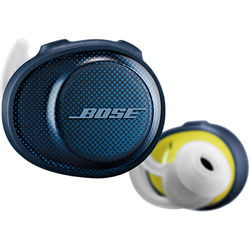 Bose SoundSport Free Wireless In-Ear Headphones, Navy/Citron