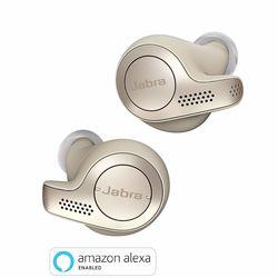 Jabra Elite 65t True Wireless Earbuds, Gold Beige