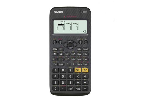 Casio fx-82AR X ClassWiz Scientific Calculator, 10+ 2 (10 Mantissa+ 2 Exponential) Digit, Full Dot Matrix, Black