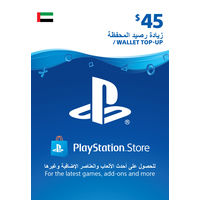 Sony Wallet top up 45 USD