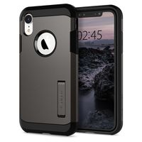 Spigen Ultra Hybrid Case for iPhone XS, Matt Black