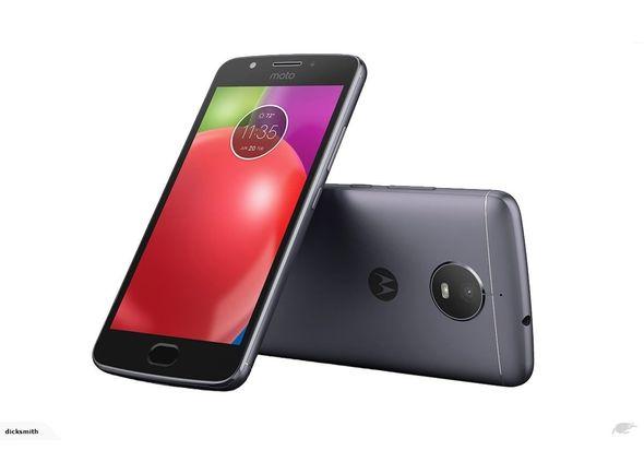 Motorola Moto E4 Smartphone LTE, Blue