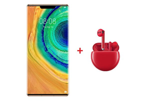 Huawei Mate 30 Pro Smartphone 5G Orange With FreeBuds 3 Red