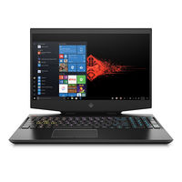 HP OMEN 15-DH0007NE i7 16GB, 1TB+ 256GB 6GB GeForce GTX 1660 Ti Graphic 15.6