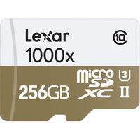 Lexar 256GB Professional 1000x microSDXC UHS-II SDMI Memory Card