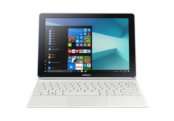 Samsung Galaxy Book 128GB 12  Tablet LTE, White