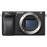 Sony 6300 E-mount camera with APS-C Sensor