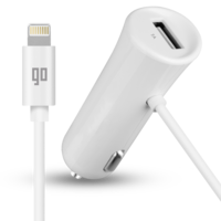 GO Lightning Car Charger 3.4 Ampere with Extra USB Port