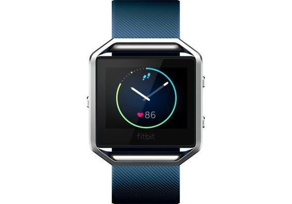Fitbit Blaze Smart Fitness Watch Large, Blue