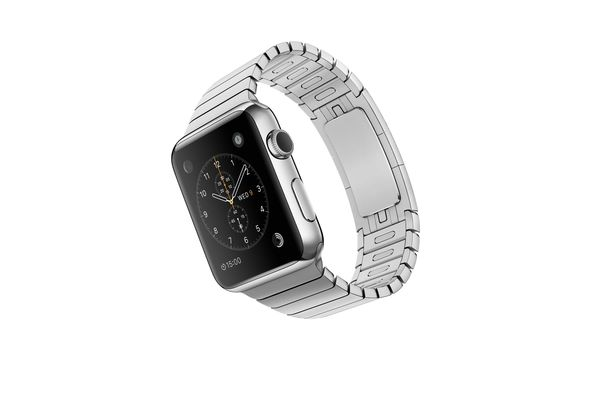 Apple Watch Sport, 42mm Stainless Steel Case with Link Bracelet