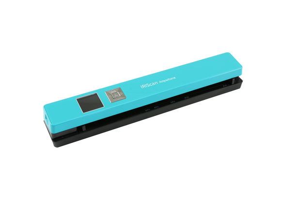 IRIScan Anywhere 5 Wifi Portable Scanner, Turquoise
