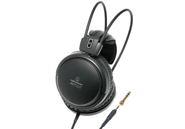 Audio Technica Audiophile Open-air Headphones, Black