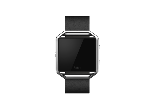 Fitbit Blaze Accessories Leather Band+ Frame Small, Black