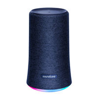 Anker Soundcore Flare Portable Bluetooth Speaker, Blue